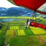 長野県車山でハンググライダーをやっていました まあ事故るよね