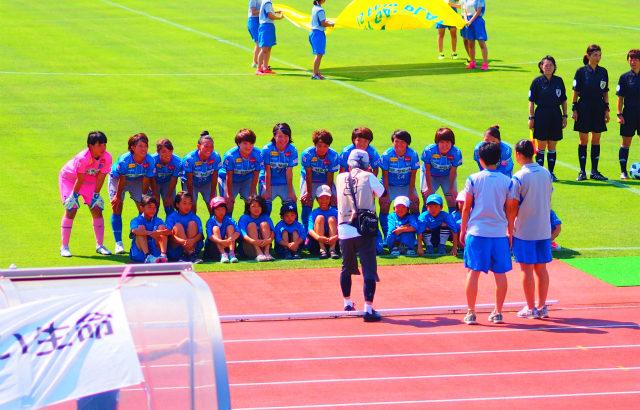 スフィーダ世田谷対ちふれASエルフェン埼玉に行ってきました。気温38℃でした