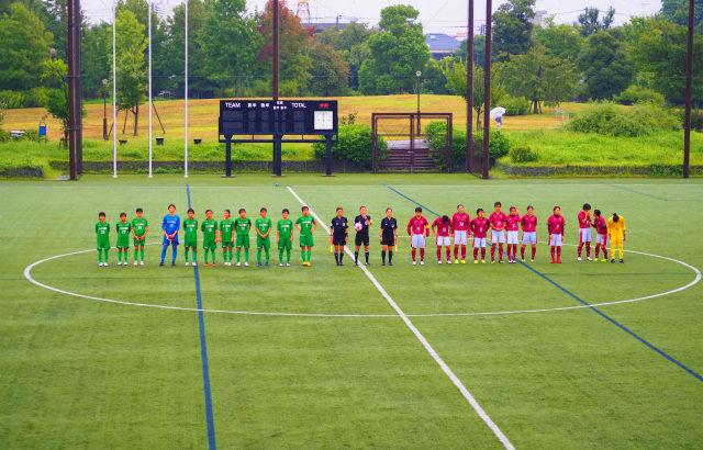 女子サッカー皇后杯関東予選決勝 早稲田対日テレメニーナに行ってきました