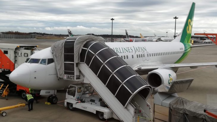 12月に春秋航空で佐賀へ! 料金が安い!座席や設備を解説します