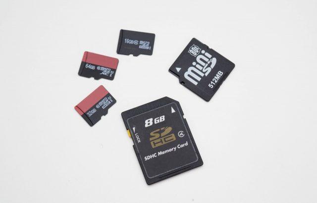 wish通販で買ったSDカードをアプリで調べたら偽物だった話