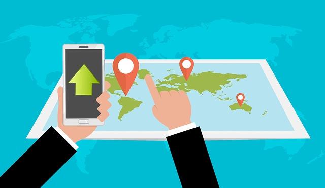 googleマップのルート保存が便利!別端末にルート送信が便利