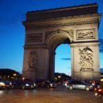 パリ凱旋門に行ってきた!高さや屋上の景色やチケット等を徹底網羅