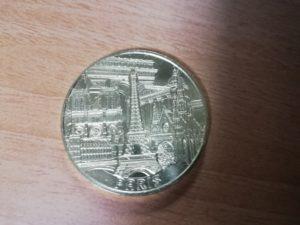 パリの記念コイン