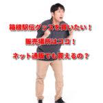 箱根駅伝グッズを買いたい!販売場所はココ!ネット通販でも買えるの?